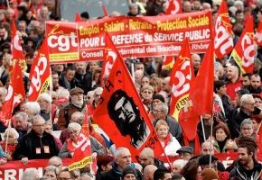 Los sindicatos franceses mantienen su pulso contra la reforma de las pensiones
