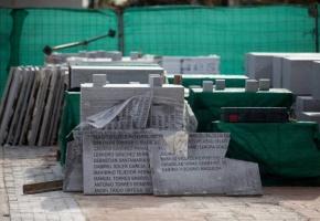 PP y Ciudadanos retiran las placas con nombres de los republicanos fusilados en La Almudena