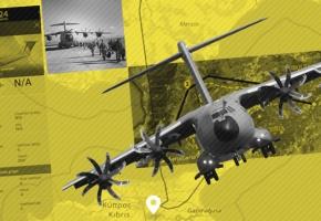 Turquía utiliza aviones de fabricación española en sus invasiones en el norte de Siria y Chipre