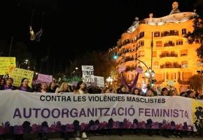 Marchas multitudinarias contra la violencia machista