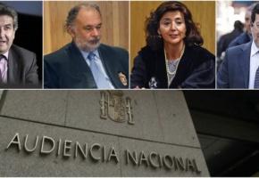 Desmantelado el tribunal de la Audiencia Nacional que juzgará la caja B del PP